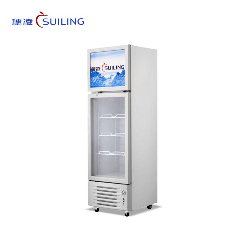 穗凌 LT4-248/318立式商用双温上冷冻下冷藏冷柜展示柜雪糕冰柜商用(LT4-248)