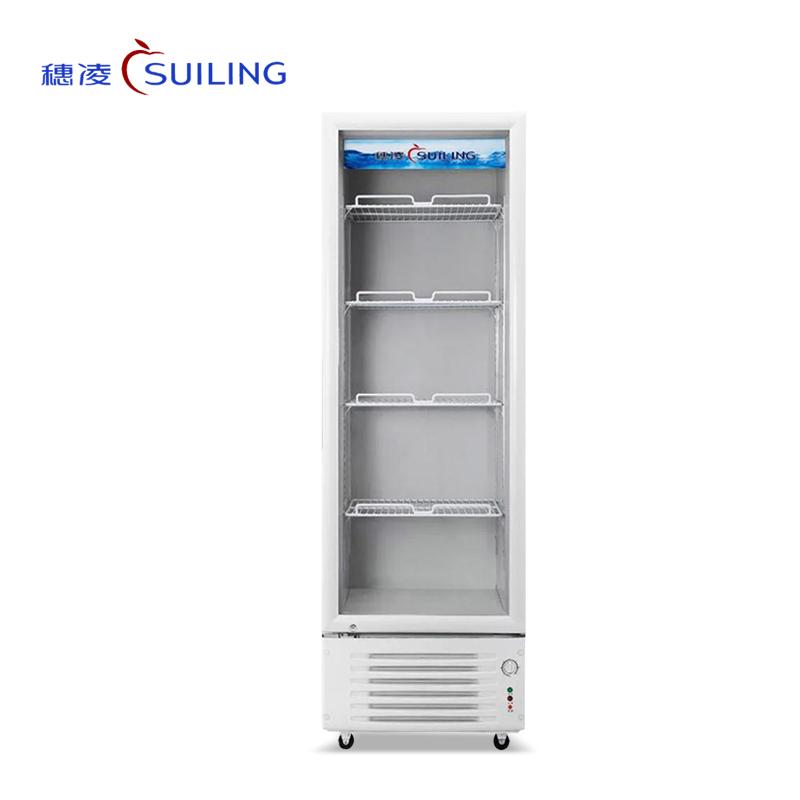穗凌 LG4-288/288-2/348/348-2单温展示柜 立式冷藏饮料冷柜保鲜柜 商用超市冰柜(LG4-348)