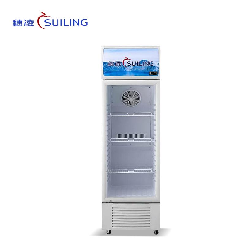 穗凌 LG4-253LW/273LW/323LW/373LW 冷柜立式风冷展示冰柜冷藏保鲜药品阴凉柜商用柜(LG4-273LW)