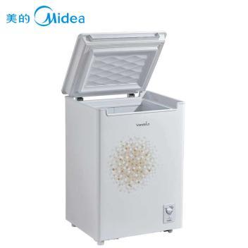 美的(Midea) BD/BC-98KSV 98升 家用 冷藏冷冻转换冷柜 低噪静音 白色(D/BC-98KSV 白色)