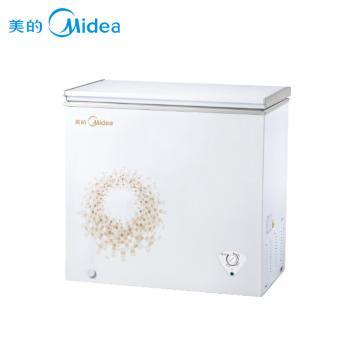 美的(Midea)BD/BC-295KM 295升 卧式冷柜 商用单温单门冷冻冷藏可转换卧式冰柜(BD/BC-295KM 旋律金)