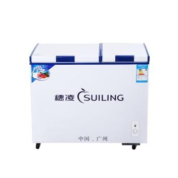 穗凌(SUILING)BCD-286A 顶盖门双温饮料雪糕冰柜 商用卧式冰柜(BCD-286A)