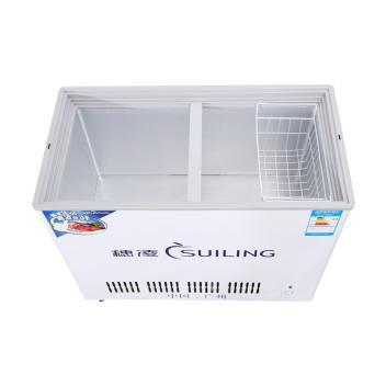 穗凌(SUILING)BCD-256 256升卧式双温蝶形门冷冻冷藏 雪糕啤酒冰柜展示柜商用(BCD-256)