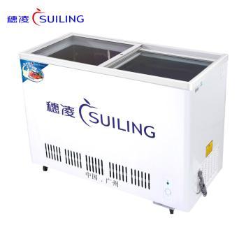 穗凌(SUILING)WG4-325 325升单温冷藏不锈钢水柜,商用卧式大排档冰吧 冰啤酒冷柜  (WG4-325)(WG4-325)
