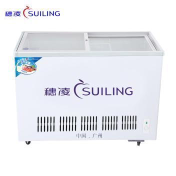 穗凌(SUILING)WD4-275 275升单温单温冷冻冷藏冰柜,商用卧式雪糕柜 鲜肉海鲜冷冻柜  (WD4-275)(WD4-275)