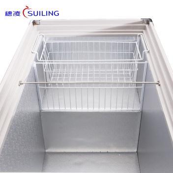 穂凌(SUILING)WD4-568  568升大型弧面玻璃门单温卧式冷藏冷冻可转换陈列饮料柜保鲜柜(WD4-568)(WD4-568)