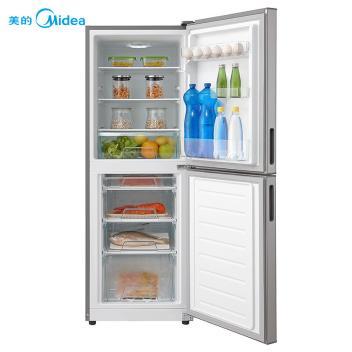 美的(Midea)BCD-176M  176升双门冷冻冷藏节能冰箱 美的双门直冷冰箱,节能低耗深度锁冷持久保鲜 星际银(BCD-176M)【图片 报价 品牌】 -赞冰易购(BCD-176M 星际银)