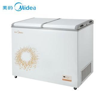 美的(Midea)BCD-271VEM  271升商用蝶形门双温冷冻冷藏雪糕饮料冷冻冷藏柜,好事成双拒绝单调,现售1798元!绿色节能环保!【图片 价格 品牌】(BCD-271VEM 金色)