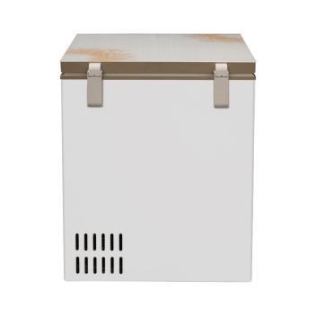 美的(Midea)BD/BC-103KGM 103升顶开门卧式冰柜 家用迷你小冰柜 单温冷冻冷藏可转换冰柜,一机四用随心转化【冷柜图片 冷柜价格 冷柜品牌 冷柜报价】(BD/BC-103KGM 旋律金)