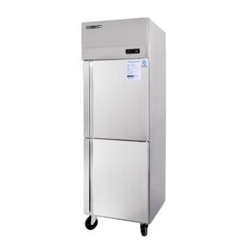 赞冰ZANBING ZB-0.5L2/1.0L4/1.6L6 立式多门商用不锈钢厨房冷柜 酒店、餐馆、蛋糕店厨房上下冷冻冷藏厨房冷柜 【冷柜图片 冷柜价格 冷柜品牌 冷柜报价】(ZB-0.5L2 两门)