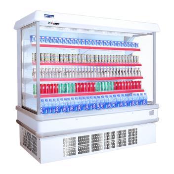 赞冰ZANBING冷柜 F2-10(一体机)风幕柜蔬菜保鲜柜商用冷藏展示柜超市饮料柜水果冷柜(F2-10(一体机))
