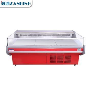 赞冰ZANBING 商用熟食柜冰柜卧式展示柜卤菜鸭脖冷藏柜冷鲜肉保鲜柜 (X1-15(一体机))